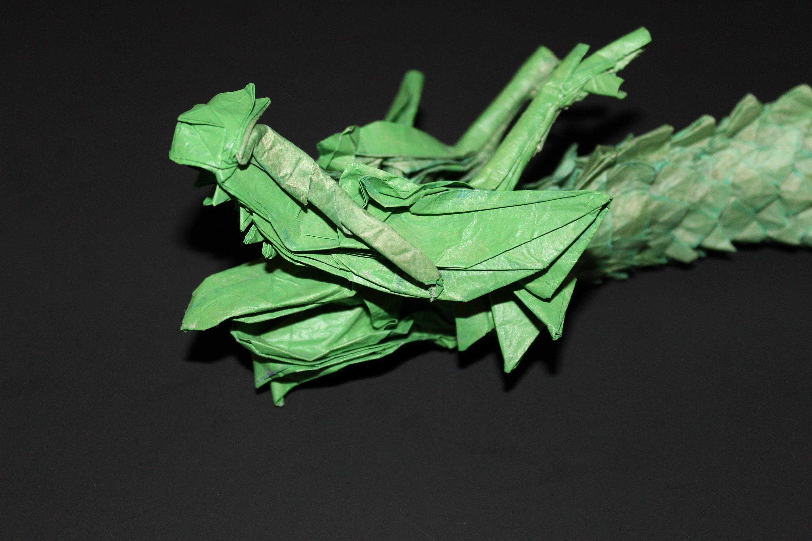 Ryuuzin 龍神 Caged Scorpion Origami