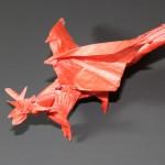Crease Pattern Challenge 001: Satoshi Kamiya's Ancient Dragon