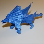 Crease Pattern Challenge 010: Keiichi Kozasa's Winged Lion