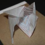 Crease Pattern Challenge 019: Satoshi Kamiya's Regular Tetrahedron with a Hyperbolic Paraboloid