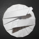 Crease Pattern Challenge 023: Seishi Kasumi's Heptadecagonal Tato
