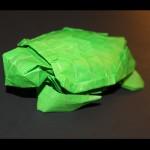 Crease Pattern Challenge 027: Satoshi Kamiya's Loggerhead Sea Turtle