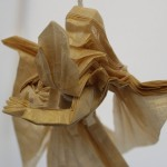 Crease Pattern Challenge 032: Takashi Hojyo's Archangel Gabriel (Version 3)