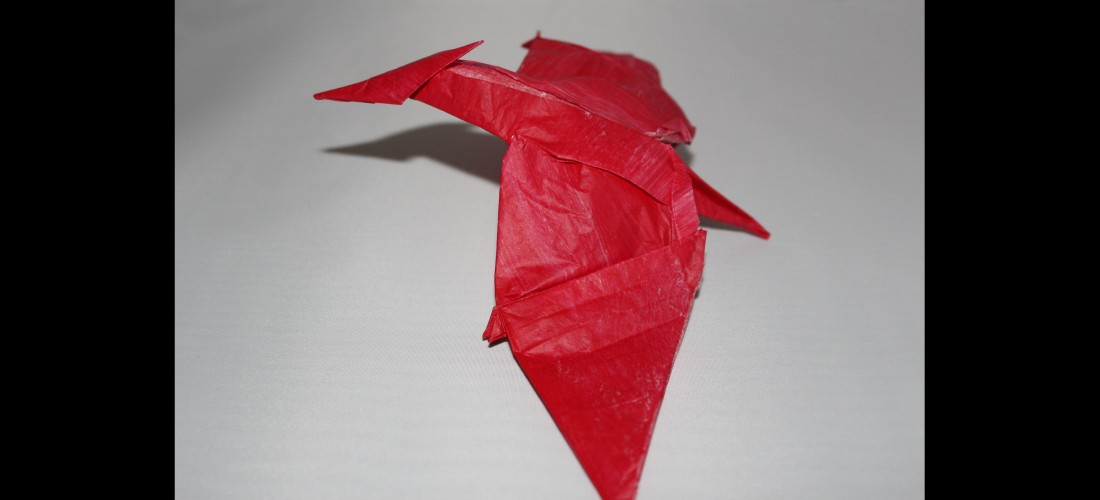 Pteranodons Caged Scorpion Origami