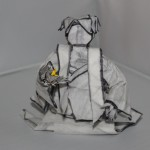 Crease Pattern Challenge 044: Naoto Horiguchi's Statue of Sasaki Sadako