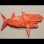 Crease Pattern Challenge 047: Noboru Miyajima's Shark