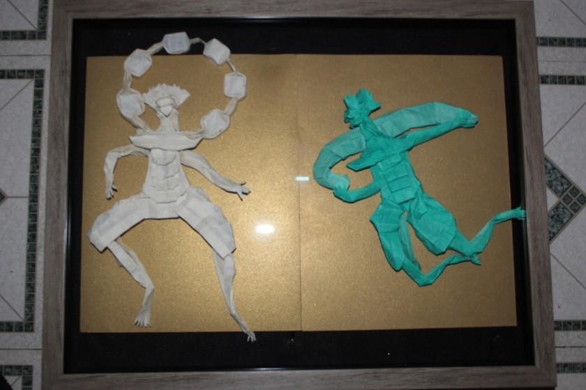 HOJYO - RAIJIN AND FUJIN (101)