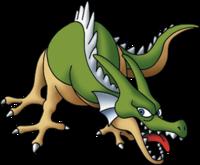 DQMJ2_-_Green_dragon